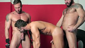 Double Strike Starring Caleb Roca - Jessy Arres and Logan Moore